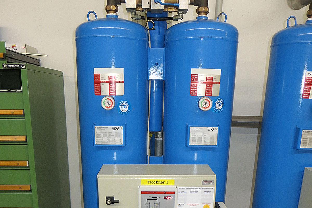 Adsorptionstrockner Pharma-Druckluft