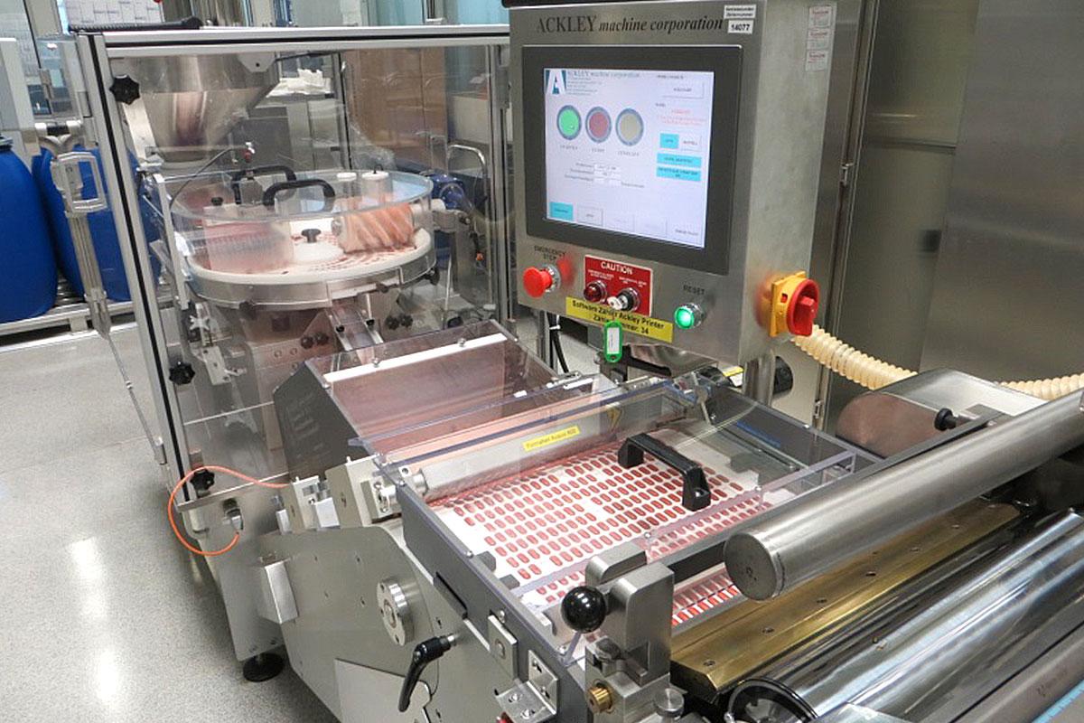 Tabletten Bedruckungssystem Ackley Printer